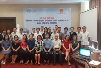 Thúc đẩy thực hiện các cam kết quốc tế liên quan tới phòng chống lao động trẻ em