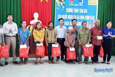 Tình cảm tri ân đối với người có công ở huyện Minh Long