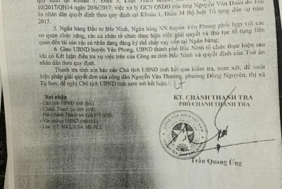 Bắc Ninh: Một mảnh đất 2 sổ, trách nhiệm thuộc về ai?