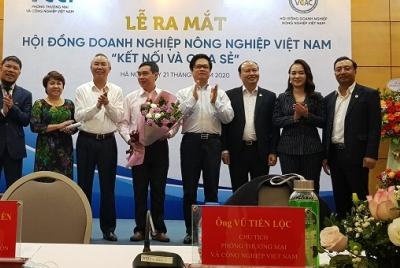 Ra mắt Hội đồng Doanh nghiệp Nông nghiệp Việt Nam