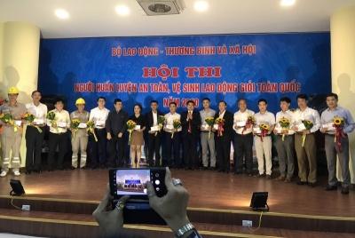 """Hơn 120 thí sinh tham gia Hội thi """"Người huấn luyện An toàn, vệ sinh lao động giỏi toàn quốc năm 2020"""""""