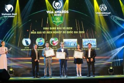 Gala Giải thưởng VGA Awards 2020 vinh danh 17 cá nhân, tập thể xuất sắc và ra mắt Quỹ phát triển golf trẻ