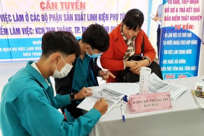 Hơn 20.000 việc làm cho người lao động ở Quảng Nam trong năm 2021