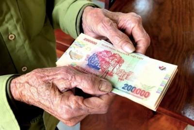 Bộ Lao động - Thương binh và Xã hội đề xuất từ ngày 1/1/2022 tăng 15 % lương hưu, trợ cấp BHXH